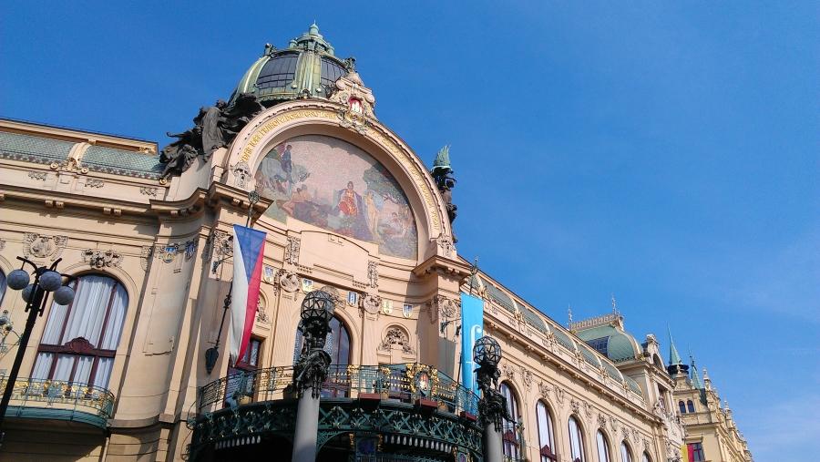 The Municipal House, Prague, Czech Republic.