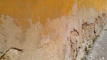 Old walls.