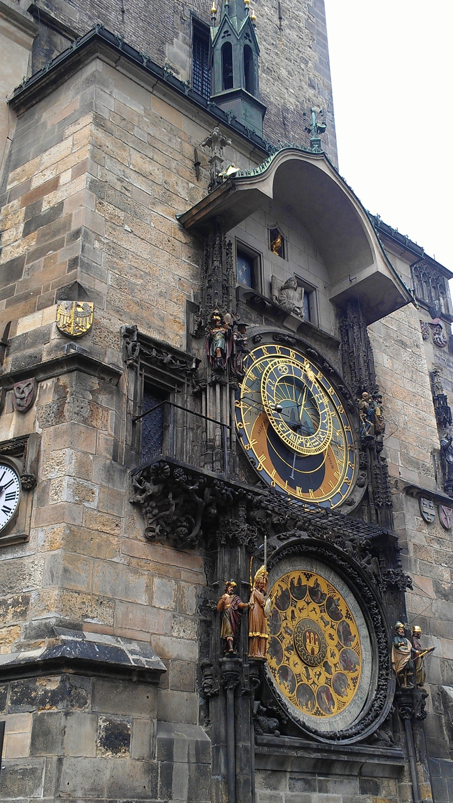 The Astronomical Clock on the Old Town Square, Prague, Czech Republic.