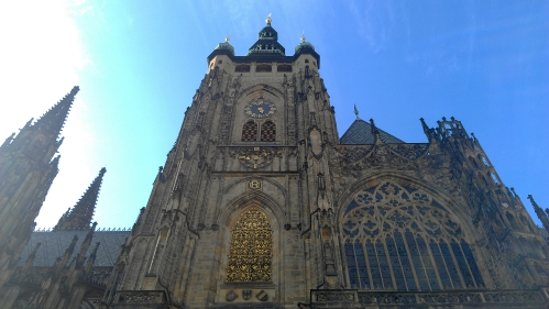 St. Vitus's Cathedral, Prague, Czech Republic.