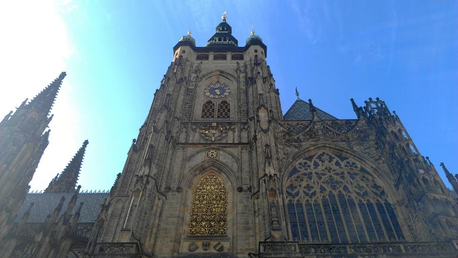 St. Vitus's Cathedral, Prague, Czech Republic.