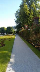 Mirabell Gardens, Salzburg, Austria.