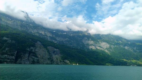Walensee Lake in Switzerland.