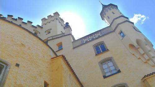 Hohenschwangau Castle, Schwangau, Germany.