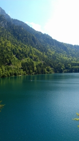 Mountain Lake in Bavaria, Germany.
