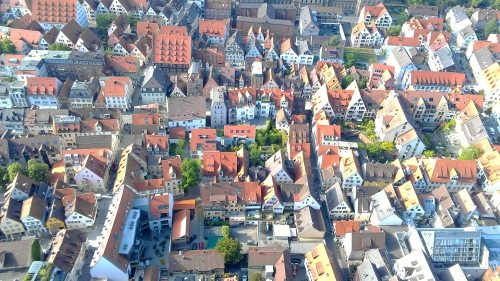 Ulm Minster view, Ulm, Germany.
