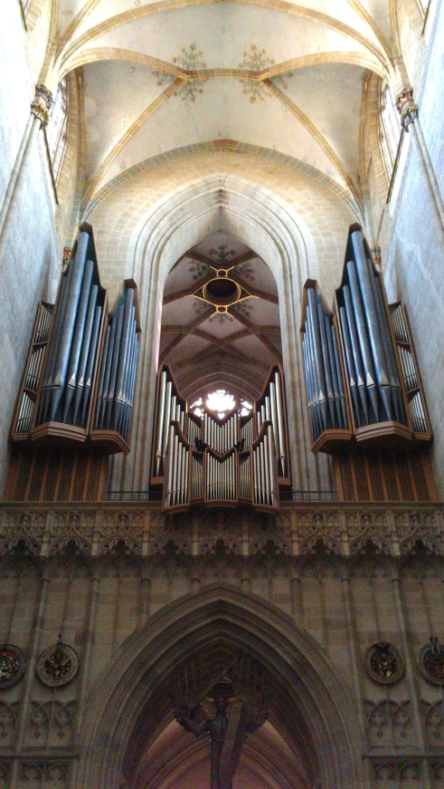 Ulm Minster organ, Ulm, Germany.