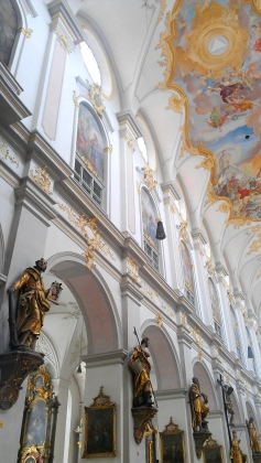 St. Peter's Church, Munich, Germany.