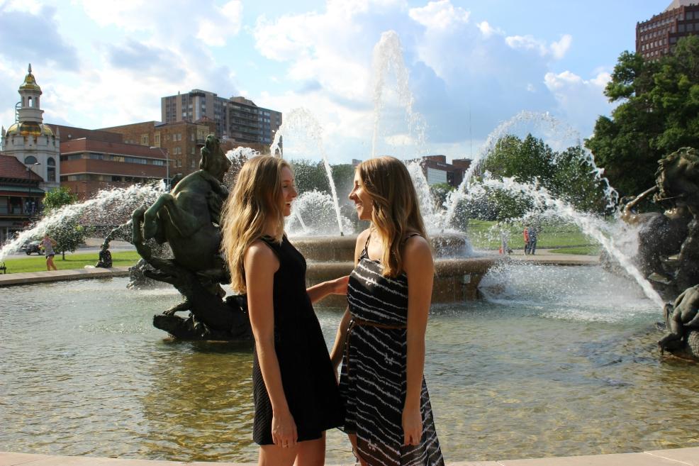 J.C. Nichols Memorial Fountain at Country Club Plaza, Kansas City, MO.