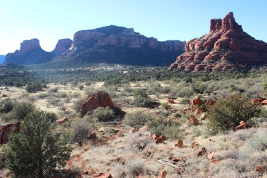 Bell Rock in Sedona, Arizona.
