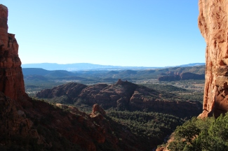 View from Cathedral Rock.