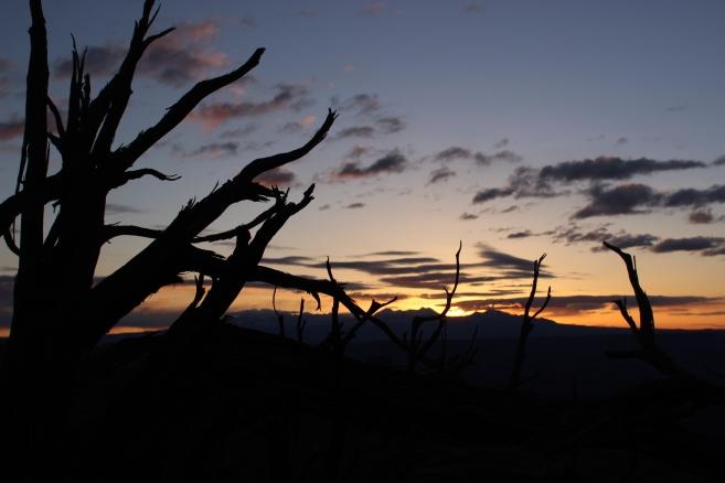 Sunrise at Mesa Arch.