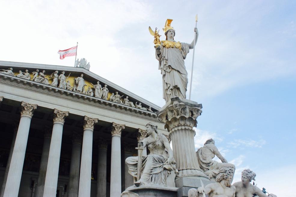 Austrian Parliament Building.