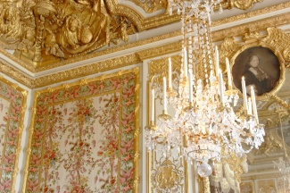 The Queen's bedroom.