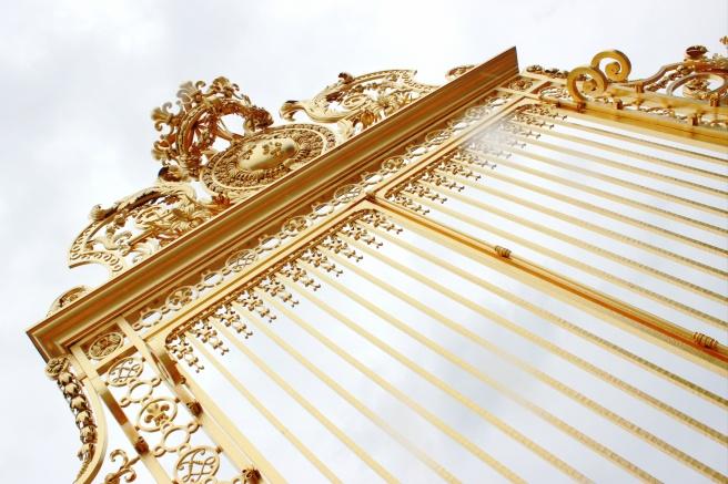 Chateau de Versailles gates.