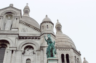 La Basilique du Sacré Cœur.