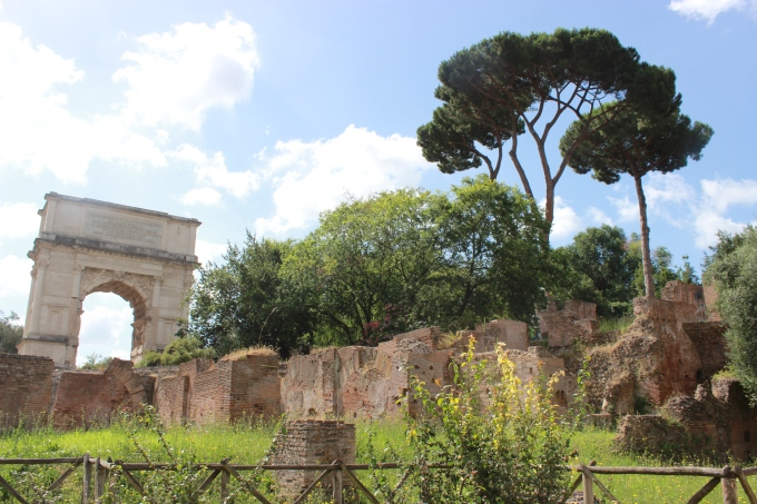 The Ancient Roman Forum.