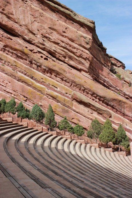 Red Rocks Amphitheatre.