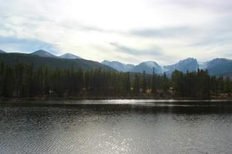 Sprague Lake.