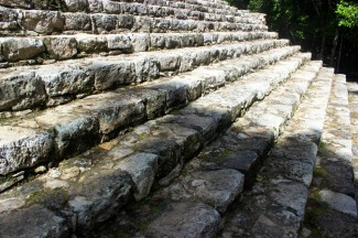 1,500 year old Coba ruins.