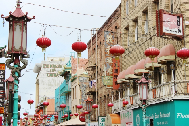 San Francisco's Chinatown.