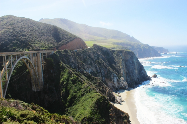 Bixby Bridge in Big Sur.