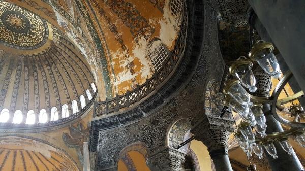 Ayasofya Müzesi (Hagia Sophia).
