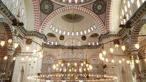 Süleymaniye Cami (Suleymaniye Mosque).