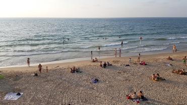 Charles Clore Beach.