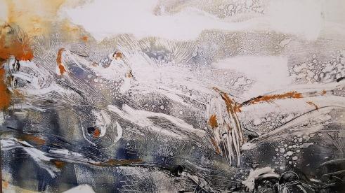 Gallery of artist Masha Orlovitch in Safed.