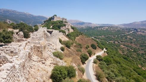 Nimrod Fortress.