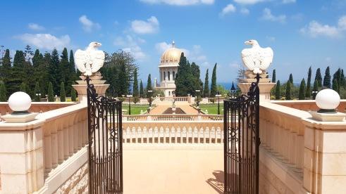The Bahá'í Gardens.