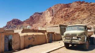 Wadi Rum Bedouin village.