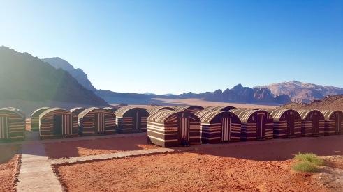 Wadi Rum Bedouin camp.