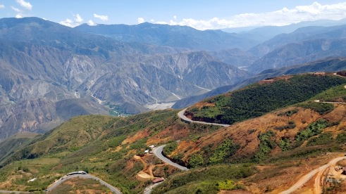 Chicamocha Canyon.