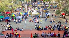 Parque Berrio, Medellin.