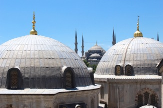 View from Aya Sofya (Hagia Sophia).