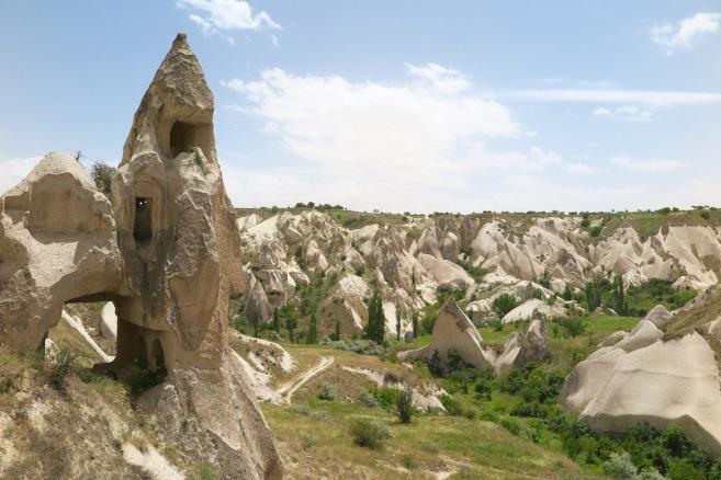 Near Ortahisar.