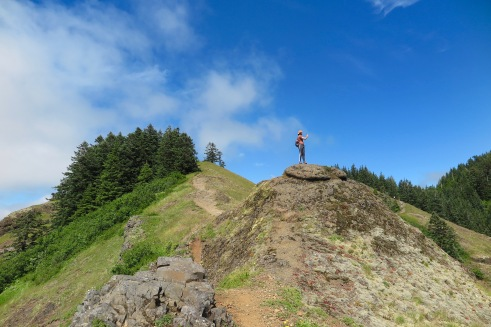 Saddle Mountain.