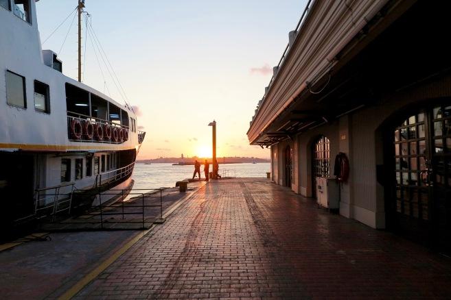 Kadıköy-Karaköy ferry.